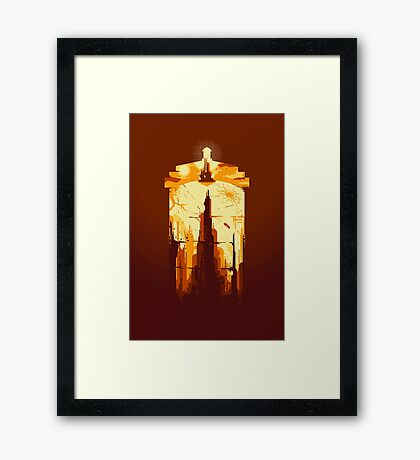 Day of the Doctor Framed Print