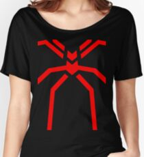 Stealth Spider Red Women's Relaxed Fit T-Shirt