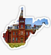 West Virginia state wvu woodburn Sticker