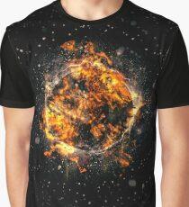 Digitally created Exploding supernova star  Graphic T-Shirt