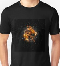 Digitally created Exploding supernova star  T-Shirt