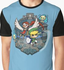 Zelda Wind Waker Earth Temple Graphic T-Shirt
