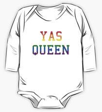 Yas queen rainbow One Piece - Long Sleeve