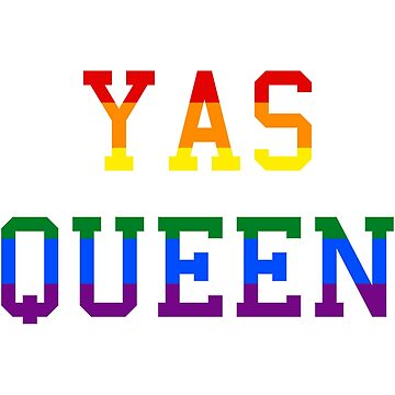Yas queen rainbow by SamanthaClaire7