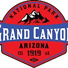 GRAND CANYON NATIONAL PARK ARIZONA MOUNTAINS HIKING CAMPING HIKE CAMP 1919 ADVENTURE 2 by MyHandmadeSigns