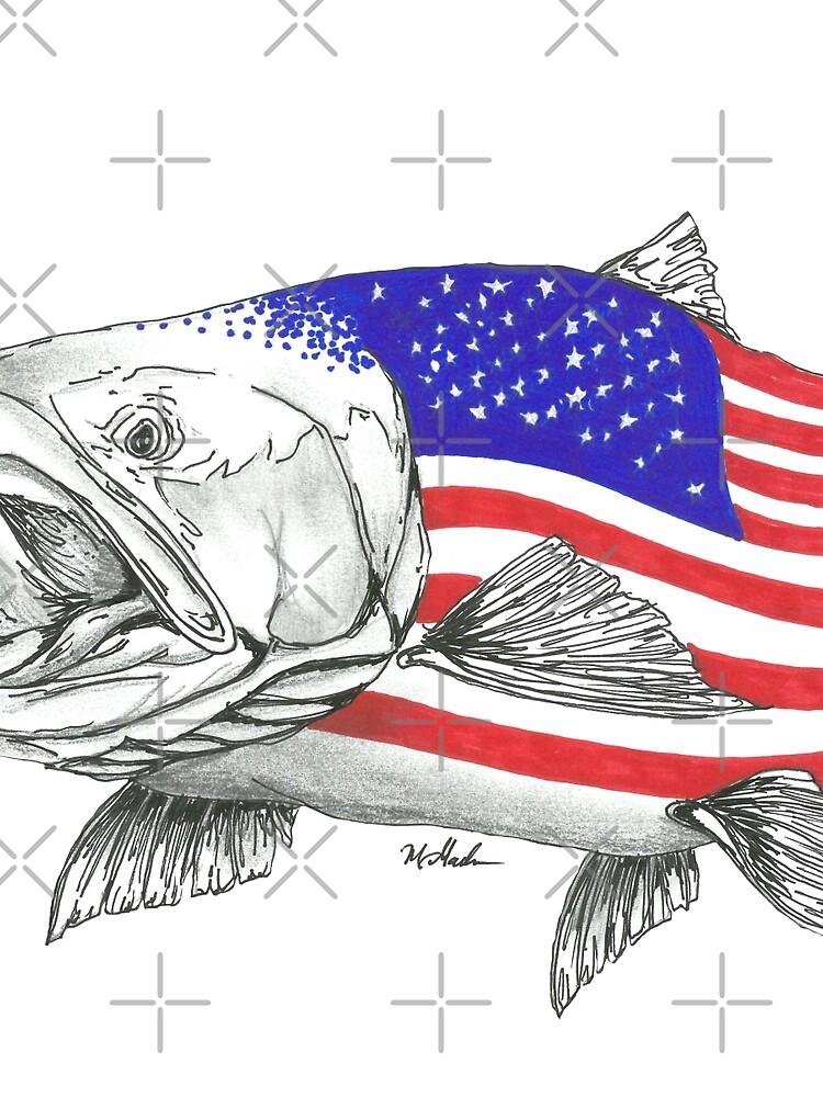 American Steel Head Salmon de Statepallets
