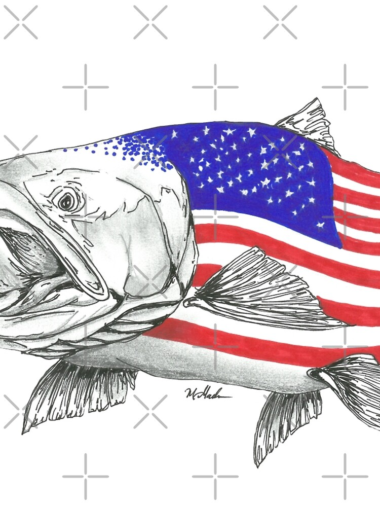 American Steel Head Salmon de Statepallets