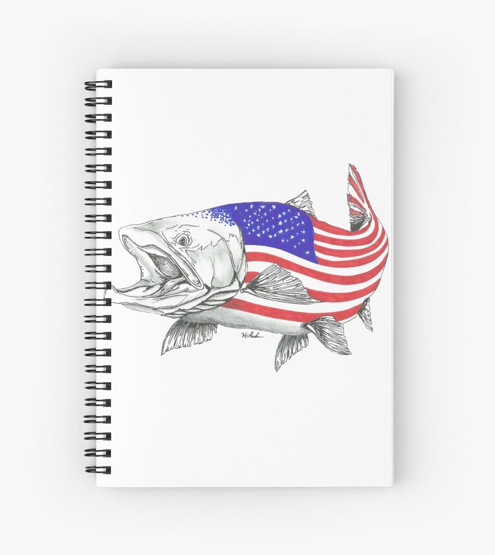 «American Steel Head Salmon» de Statepallets