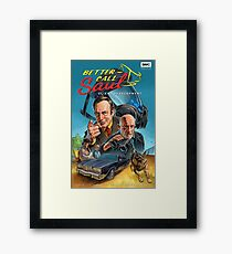Better Call Saul Poster Framed Print