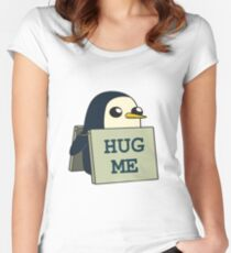 Gunther - Hug Me Women's Fitted Scoop T-Shirt