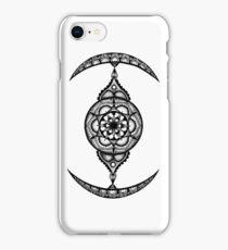 Stippled Mandala Star Wars TIE - Fighter iPhone Case/Skin