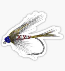 Fly Fishing American Tie Sticker