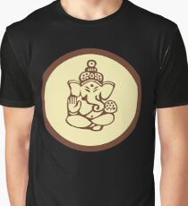 Hindu, Hinduism, Ganesh T-Shirt Graphic T-Shirt