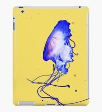 Cool Blue Cute Fun Unique Summer Jellyfish iPad Case/Skin