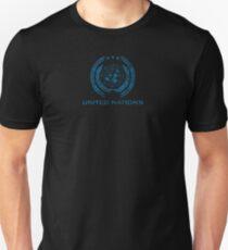 The Expanse - United Nations Logo - Dirty Unisex T-Shirt