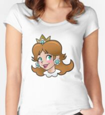 Princess Daisy Women's Fitted Scoop T-Shirt