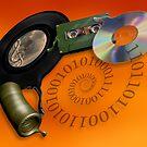Evolution of music media by Paul Fleet