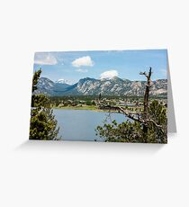Estes Lake-Estes Park Colorado Greeting Card