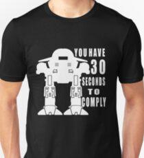 Robot Cop Unisex T-Shirt