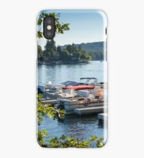 Boats on Lake Arrowhead, CA iPhone Case/Skin