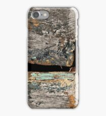 timeless tale of an old blue whale iPhone Case/Skin
