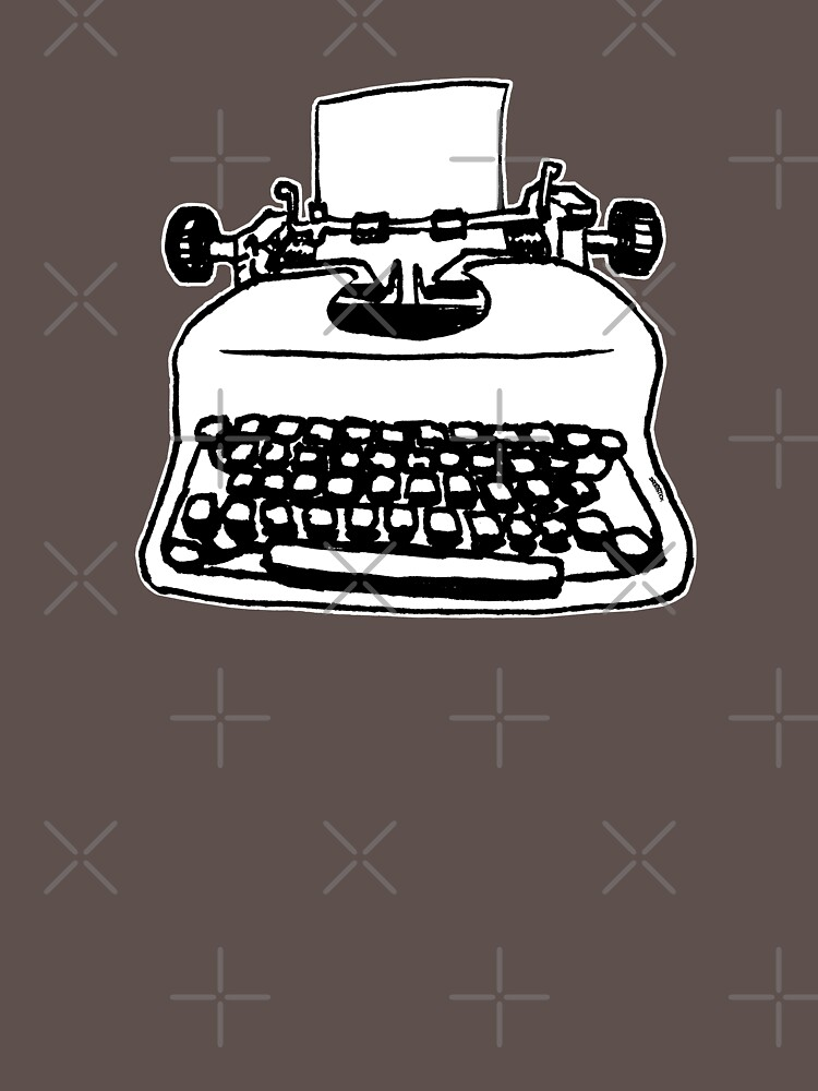 Old Typewriter by thedrumstick