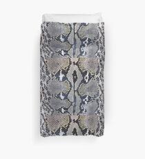 Python Schlangenhaut Textur-Design Bettbezug