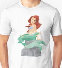 Banksy Dismaland Mermaid Figure Unisex T-Shirt