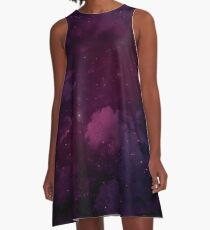 Violet Mage Night Sky A-Line Dress