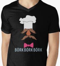 Bork Bork Bork Mens V-Neck T-Shirt