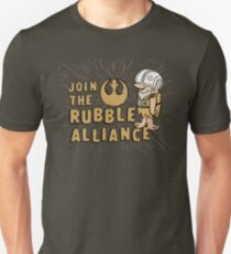 Join The Rubble Alliance Slim Fit T-Shirt