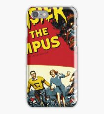 monsters on campus! iPhone Case/Skin