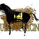 Zenyatta - Queen of Racing by Ginny Luttrell
