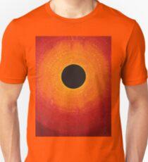 Black Hole Sun original painting Unisex T-Shirt