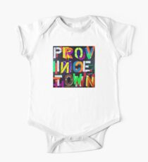 """Provincetown at Night"" Dave Hay • haydave.com One Piece - Short Sleeve"