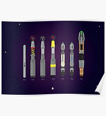 Sonic Screwdriver collection Poster
