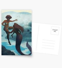 I Fell in Love With a Mermaid Postcards