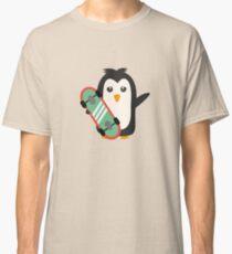 Skateboard Penguin   Classic T-Shirt