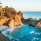 Mcway Falls at Julia Pfeiffer Burns State Park  by Melody Ricketts