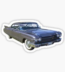 1960 Cadillac Luxury Car Sticker