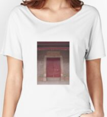 Chinese gate Women's Relaxed Fit T-Shirt
