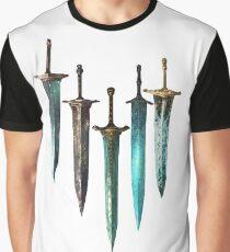 Moonlight Sword Graphic T-Shirt