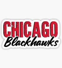 Vintage Feel Chicago Blackhawks Sticker