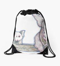 Portly Porker Pals Drawstring Bag