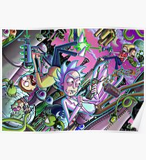 Rick and Morty Adult Swim Poster