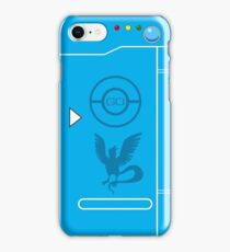PokemonGO Team Mystic Themed Pokedex Case iPhone Case/Skin