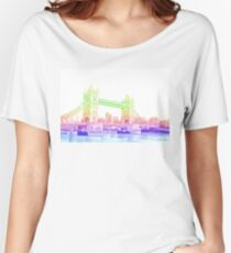 london bridge  Women's Relaxed Fit T-Shirt