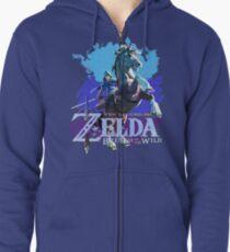 Legend of Zelda: Breath of The Wild Zipped Hoodie
