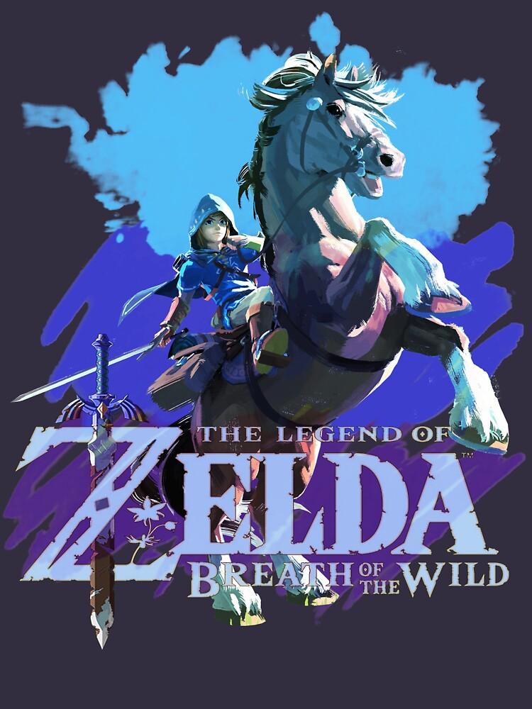 Legend of Zelda: Breath of The Wild by BlueDeja