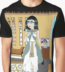 Cleopatra in the modern world Graphic T-Shirt